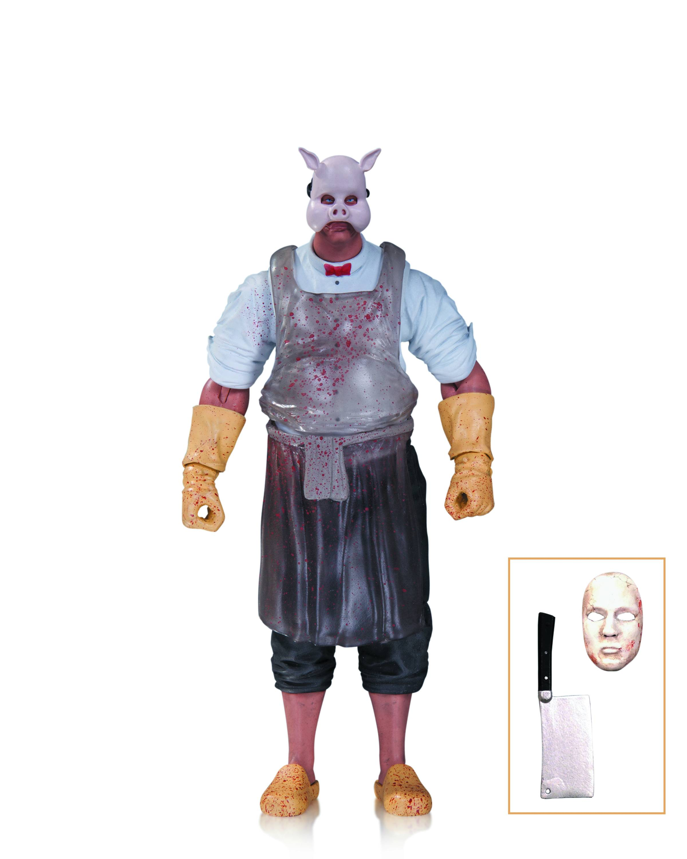 DC Comics Batman Arkham Knight Professor Pyg Figure